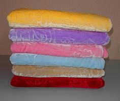 Детское одеяло плед плюш велюр двустороннее 100х130 см