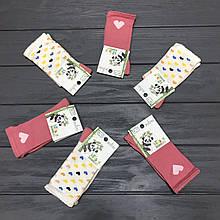 Детские бамбуковые носки для девочек  Размер 6-7 лет