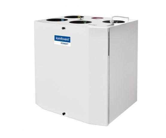 Енергоефективна та низькошумна  вентиляційна установка з роторним рекуператором Domekt R 300 V