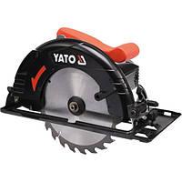 Пила дисковая ручная сетевая YATO YT-82150