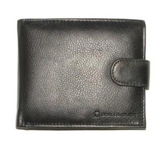 9b3c904b685a Кожаный мужской кошелек портмоне Польша натуральная кожа DNK N992L-CCF BLACK
