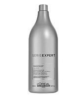 L'Oreal Professionnel Serie Expert Magnesium Silver шампунь тонирующий для седых и обесцвеченных волос, 500 мл