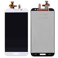 Дисплей (экран) для LG D800 G2/D801/D803/D808/E940/F320/LS980/VS980 + тачскрин, белый, 34 pin