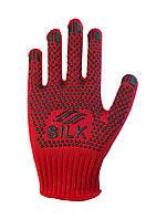 Трикотажні рукавиці з ПВХ Silk 11047