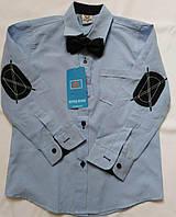 Детская рубашка для мальчика 110, 116
