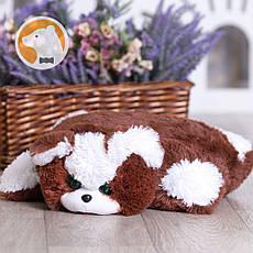 Подушка-игрушка Кошка, коричневая