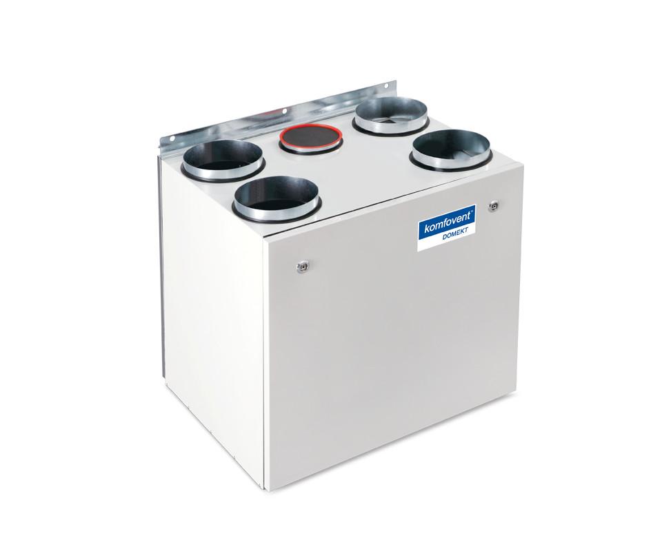 Енергоефективна та низькошумна  вентиляційна установка з роторним рекуператором Komfovent Domekt R 450 V