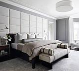 Купить стеновые панели из ткани, кожи, фото 4