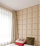 Купить стеновые панели из ткани, кожи, фото 7