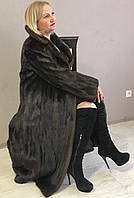 Длинная норковая шуба натуральная норка! натуральный мех!, фото 1