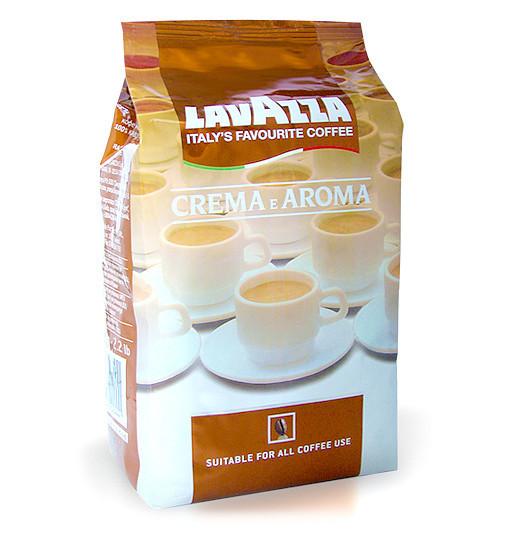 Зерновой кофе Lavazza crema e aroma 1 кг