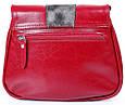 Кожаная сумка-почтальонка LASKARA LK-DD217-wine, женская , фото 3