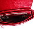 Кожаная сумка-почтальонка LASKARA LK-DD217-wine, женская , фото 8