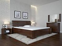 Кровать деревянная Домино с подъёмным механизмом двуспальная