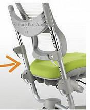 Детское ортопедическое кресло-трансформер Comf-Pro Angel KC01 бело-голубой , фото 3