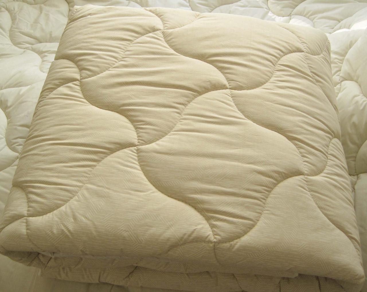 Одеяло двухспальное евро лебяжий пух 200*210 хлопок (3273) TM KRISPOL Украина