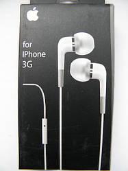 Гарнитура проводная Iphone 3, 3g, 3gs, 2, 4 AAA