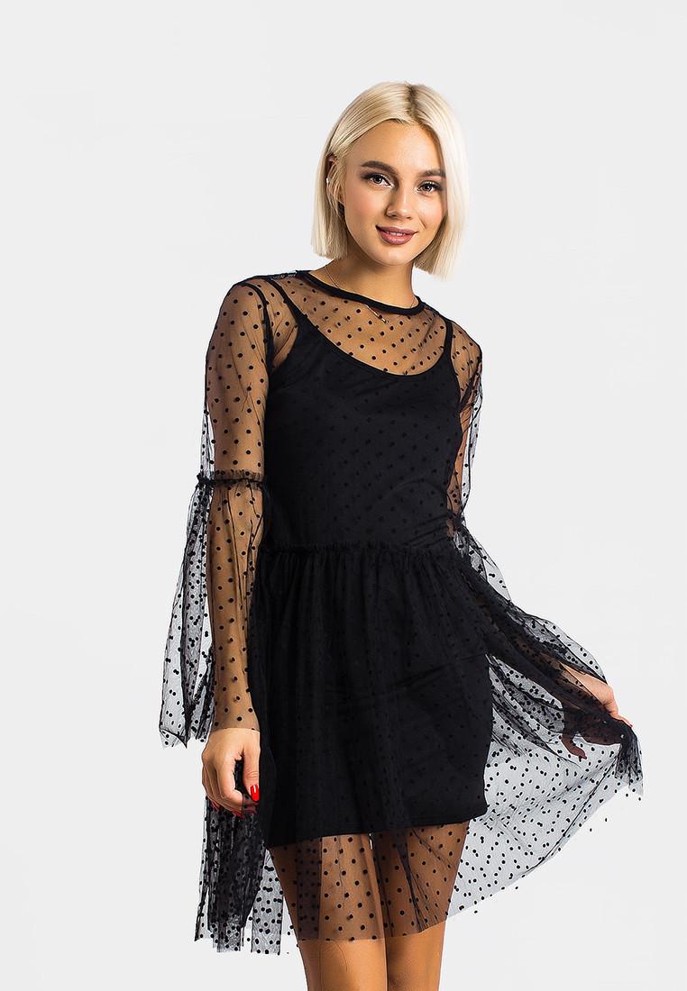 Платье LiLove 366 46 черный