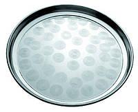 Піднос металевий круглий для офіціанта Ø 30 см