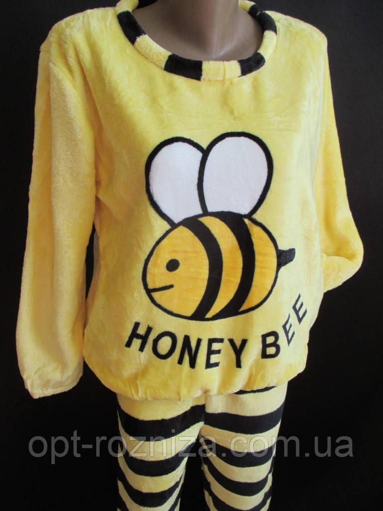 Пижама пчелка из махровой ткани