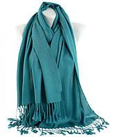 Женский шарф Traum 2493-89 65х180 см бирюзовый