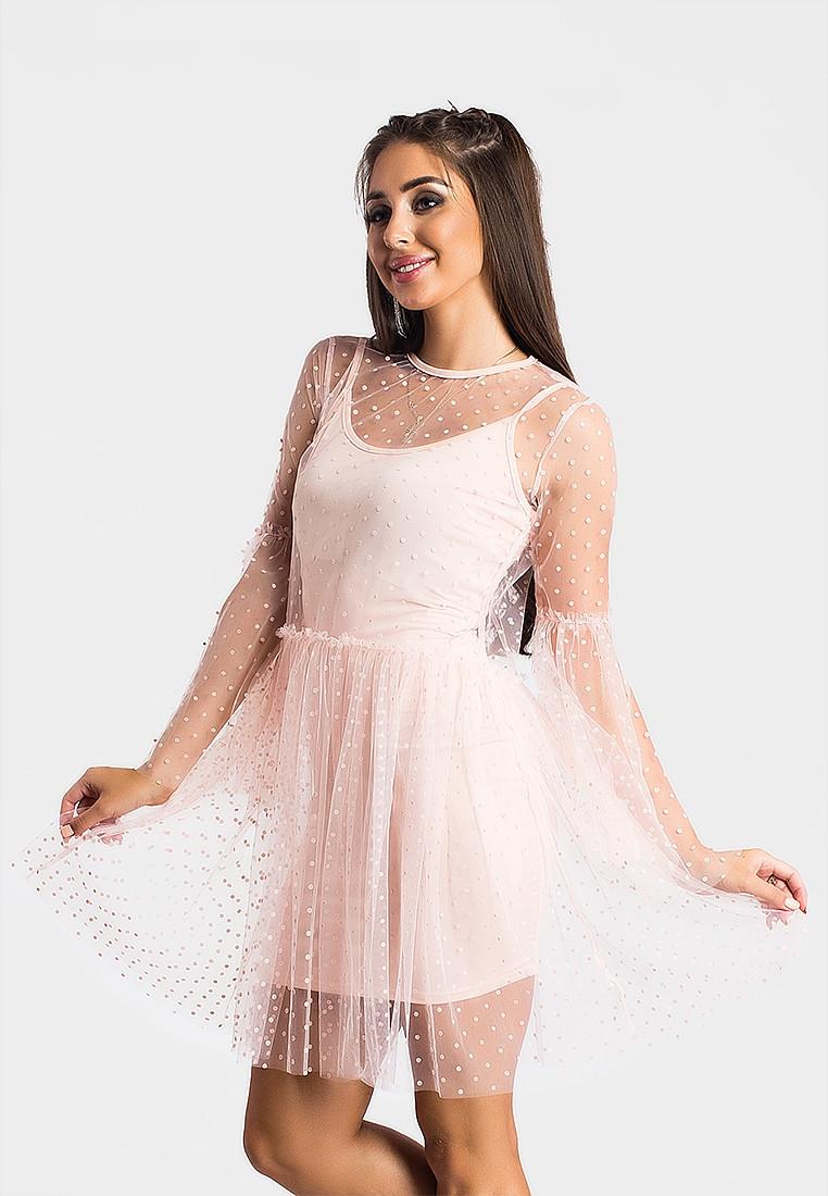 Платье LiLove 366-1 44 розовый