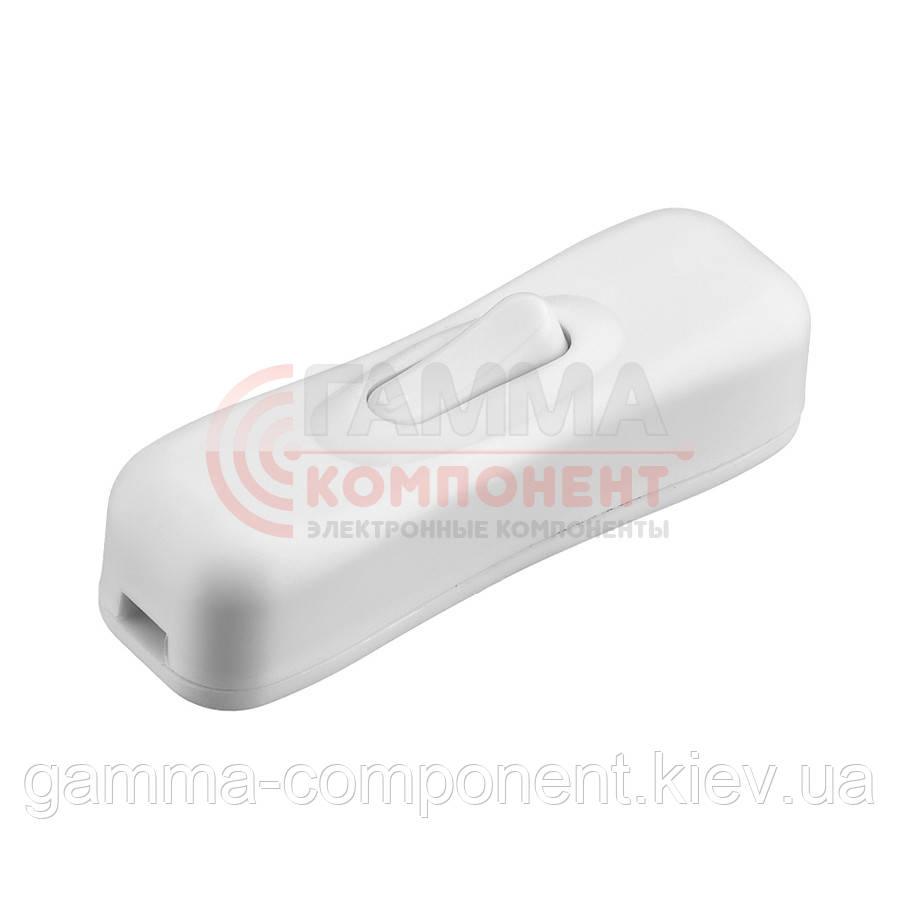Клавишный выключатель KCD5-304, белый