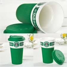 Кружка Starbucks керамика в силиконовом чехле, керамическая чашка star