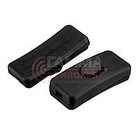 Клавишный выключатель KCD5-303, черный