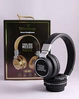 Наушники Беспроводные Wireles Az-05 Bluetooth JBL крутые мощные наушники стерео