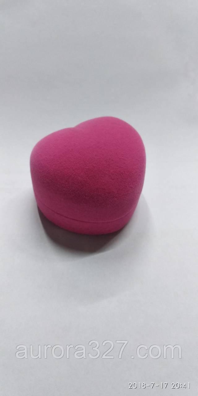 "Футляр для кольца ""Сердце маленькое розовое"""