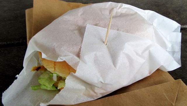 Бумага упаковочная жиро-влагостойкая для фаст-фудов, кондитерских, кафе