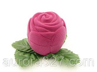 """Футляр для кільця """"Троянда маленька"""" фуксія"""