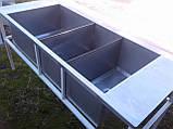 Мойка промышленная из нержавейки 1,77 м. б/у, нержавеющая мойка промышленная б у., фото 7