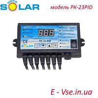 Контроллер Nowosolar PK-23 PID Lux (на 1 вентилятор и 2 насоса)