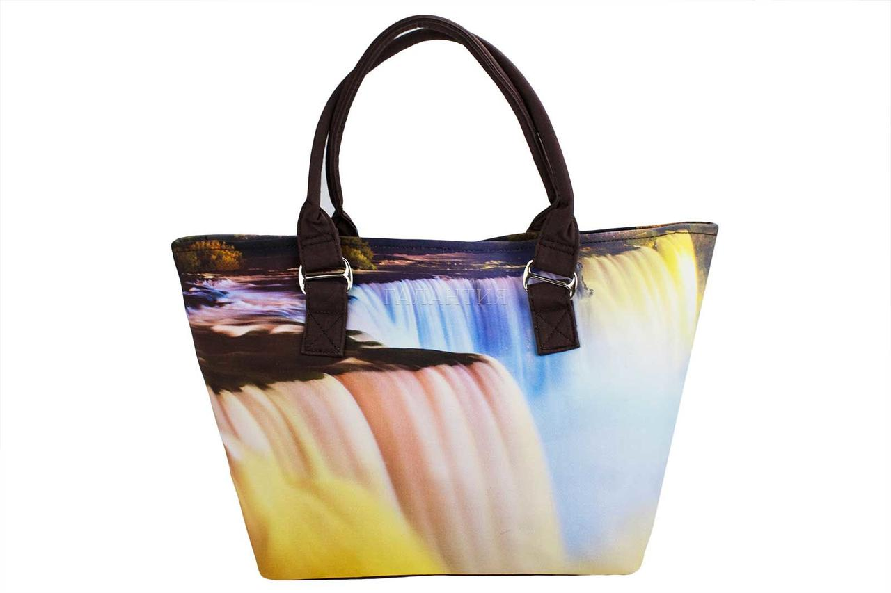 e1d657d3698b Сумка пляжная SM003-11 водопад: продажа, цена в Херсоне. сумки для ...