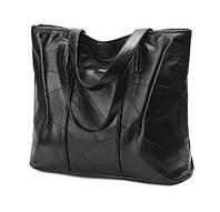 Женская черная наплечная сумка из овчины Ding Xin Yizu