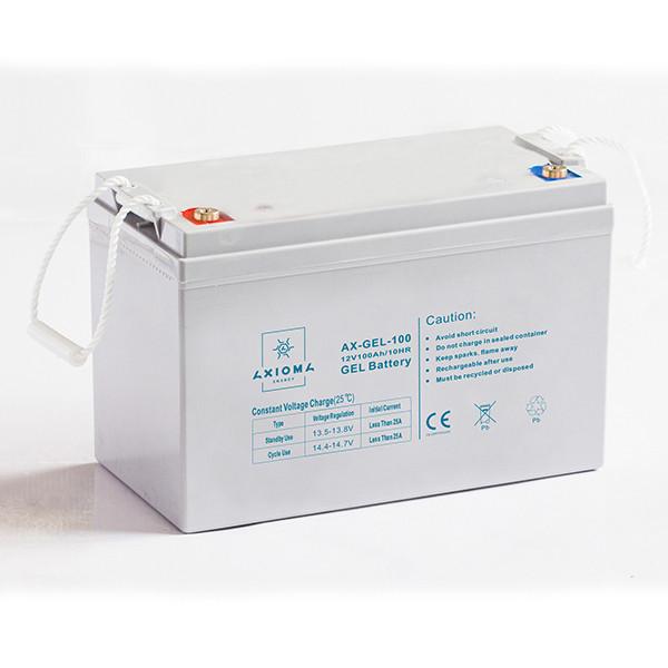 Аккумулятор гелевый 100Ач 12В, AX-GEL-100, AXIOMA