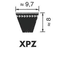Ремень клиновой Optibelt Super X-POWER XPZ 1662
