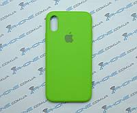 Силиконовый чехол для iPhone X, - «лайм» - copy original, фото 1