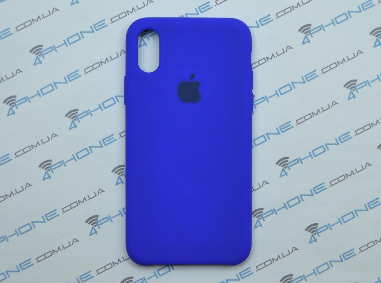 Силиконовый чехол для iPhone X, - «электрик» - copy original