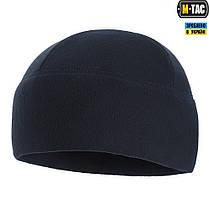 M-Tac шапка Watch Cap Elite флис Windblock 295 Dark Navy Blue, фото 3
