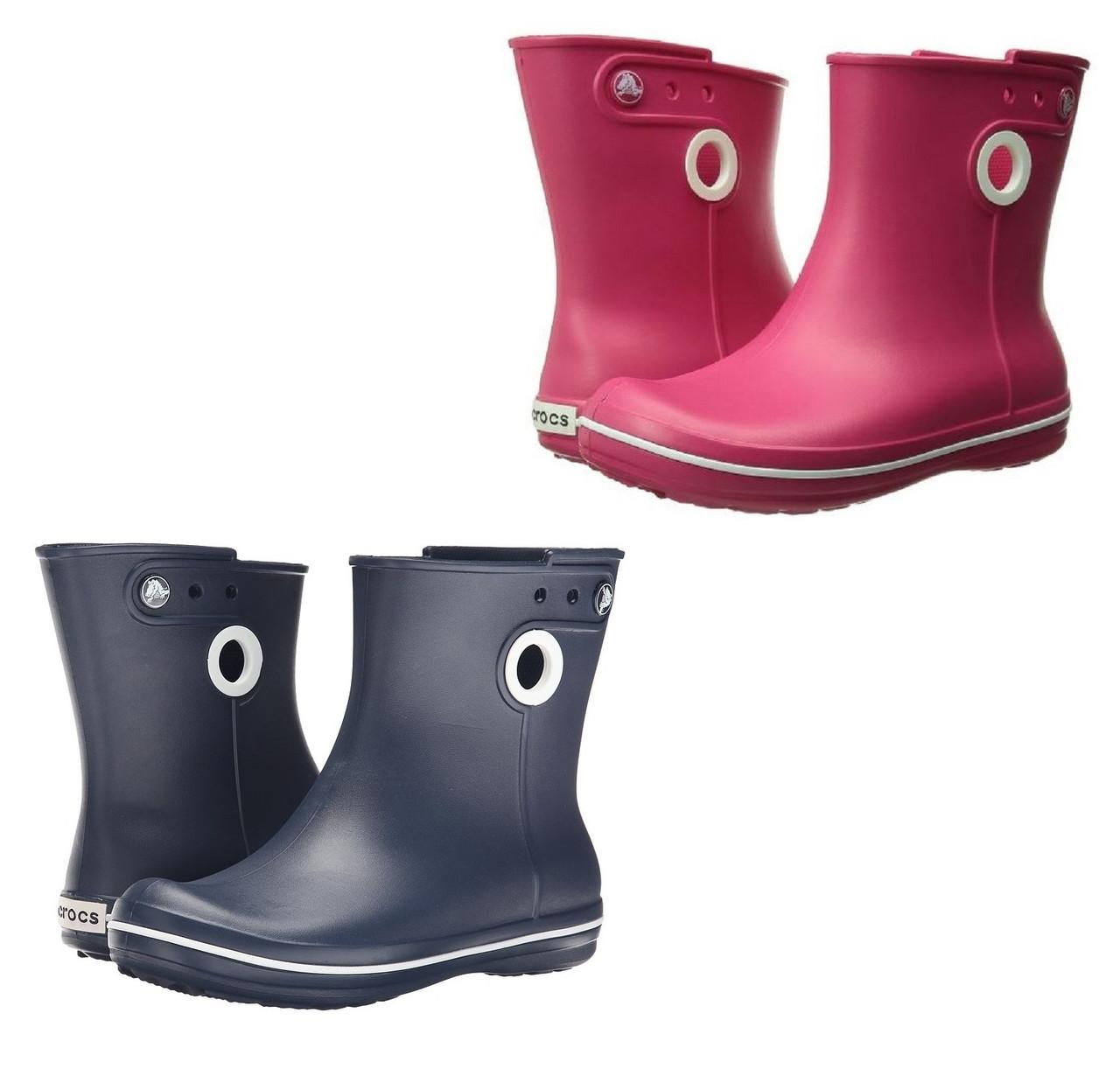 2040c6881 1 099 грн. Сапоги резиновые женские короткие с кружочком Crocs Women's  Jaunt Shorty Boot / дождевики полусапоги