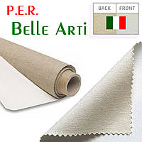 "Купить холст ""Belle Arti"" Италия, среднее зерно, 335 г/м², ширина 2,1 м., в рулоне 10 п.м."
