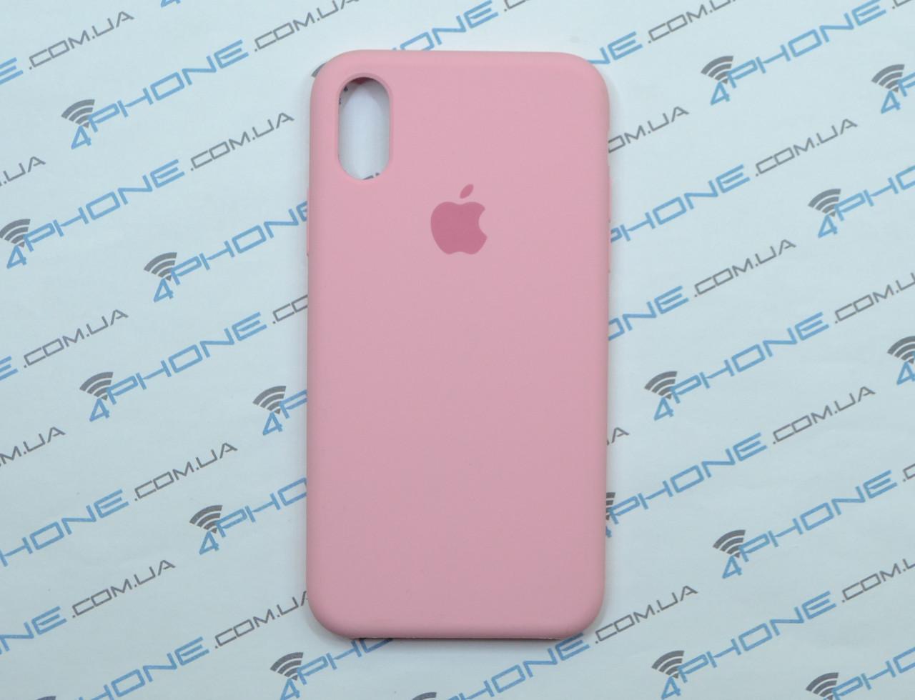 Силиконовый чехол для iPhone X, - «цветущая роза» - copy original