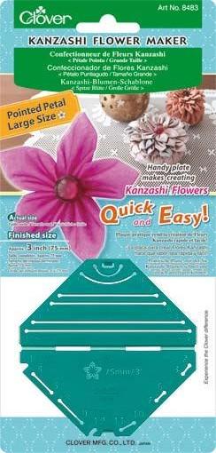 Устройство Clover 8483 для изготовления цветов с острым лепестком, большие