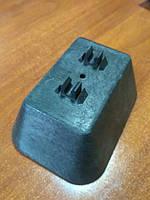 Покрівельний тримач пластиковий з бетоном