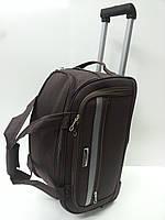 52b07ce11ce9 Сумка дорожная на колесах Mercury 41180 коричневый 48 х 28 х 28 см  (маленькая)