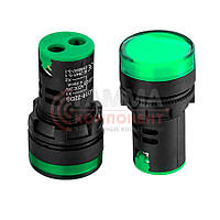 Светодиодный индикатор AD16-22DS, 24V, зеленый