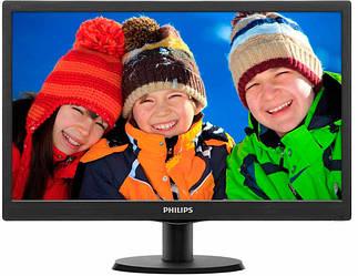 """Монитор Philips 18.5"""" 193V5LSB2/62 Black"""
